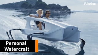 Meet The Futuristic Boat That Can 'Fly On Water'