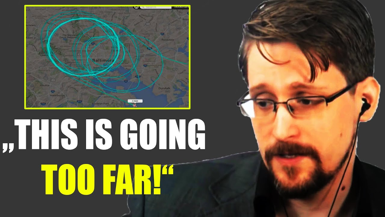 "Edward Snowden: ""They Are Tracking You Everywhere!"""