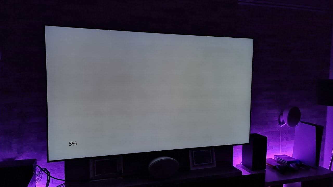 Samsung Q95T Dirty Screen Effect Test ,GOOD or BAD?