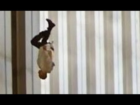 911 Jumpers (Warning: Age Restricted Video) 9/11 Plane Crashes World Trade Center Towers Sept 11