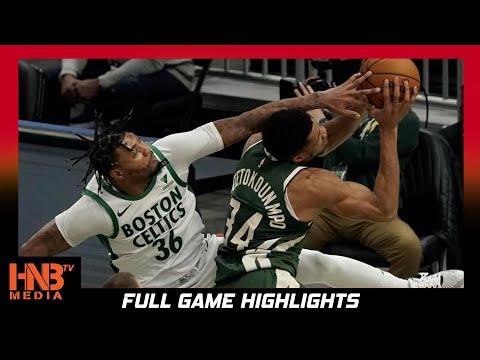 Boston Celtics vs Milwaukee Bucks 3.24.21 | Full Highlights