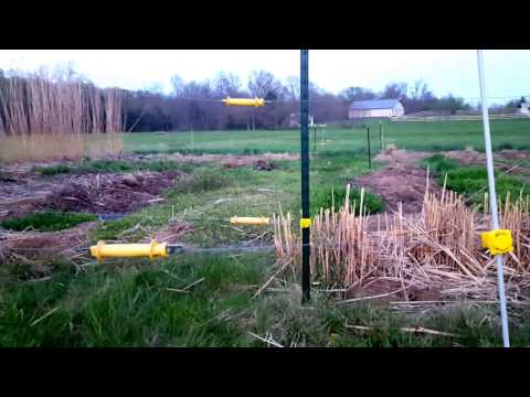 Keep deer out of your garden with a double-layer fence