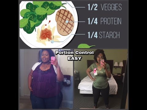 How I lost 300 Pounds USING PORTION CONTROL