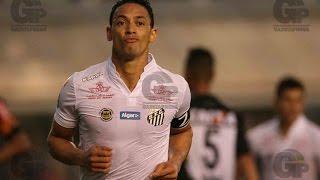 Santos 3 x 0 Atlético-MG - MELHORES MOMENTOS - Campeonato Brasileiro - 14/08/2016