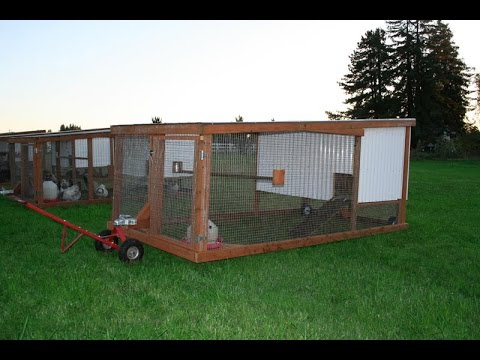 Diy mobile chicken coops by mobile chickens llc youtube for Mobile chicken coops