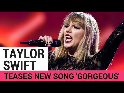 Taylor Swift 'Gorgeous' NEW SONG Sneak Peek!