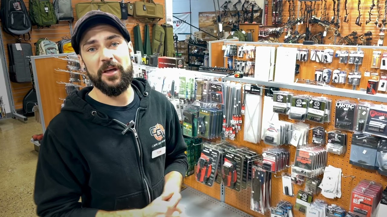 Tim gives you a tour of our epic, amazing AR aisle at Cape Gun Works