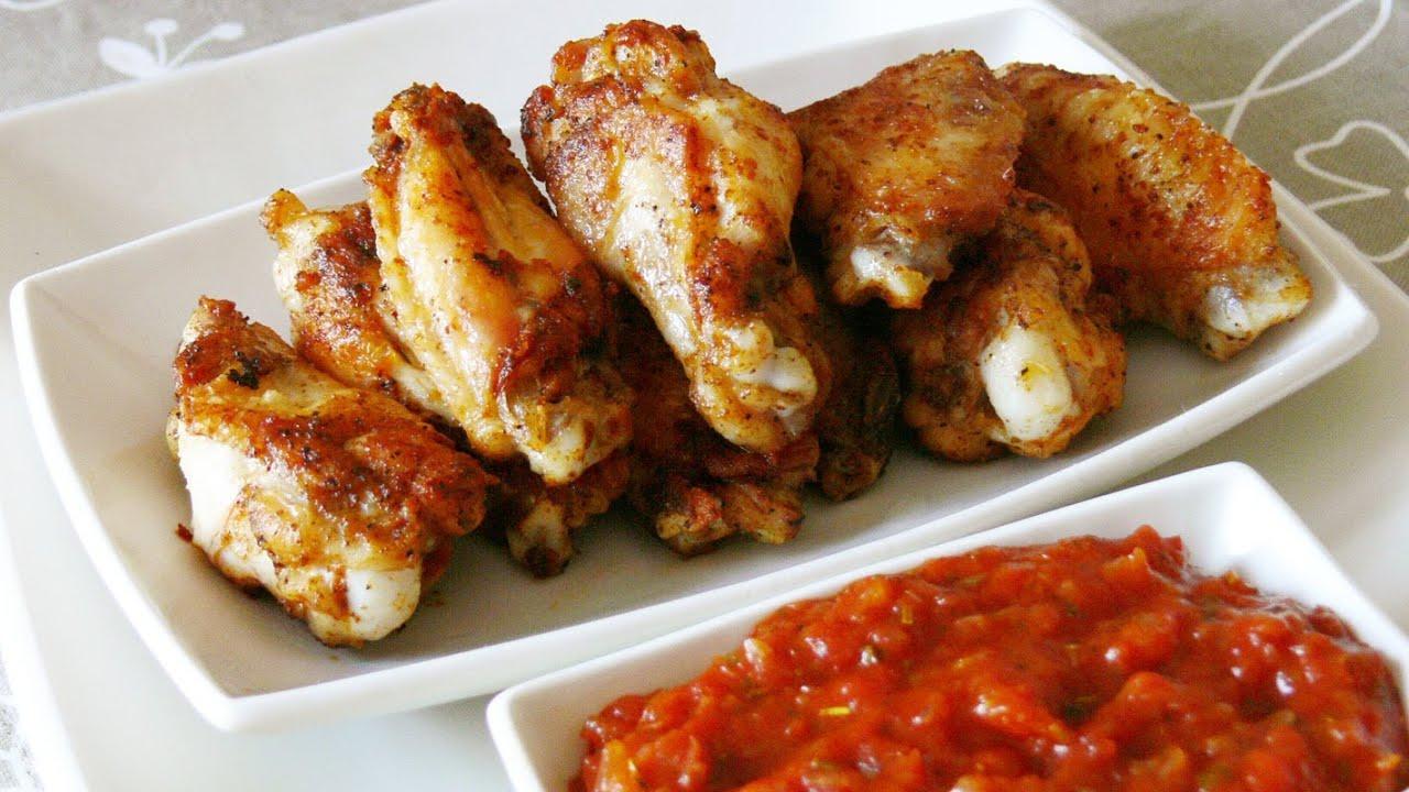 Cocinar para los amigos alitas de pollo con salsa barbacoa for Cocinar para 9 personas