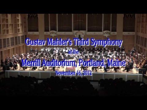 USM & Portland Youth Symphony - Mahler's 3rd Symphony