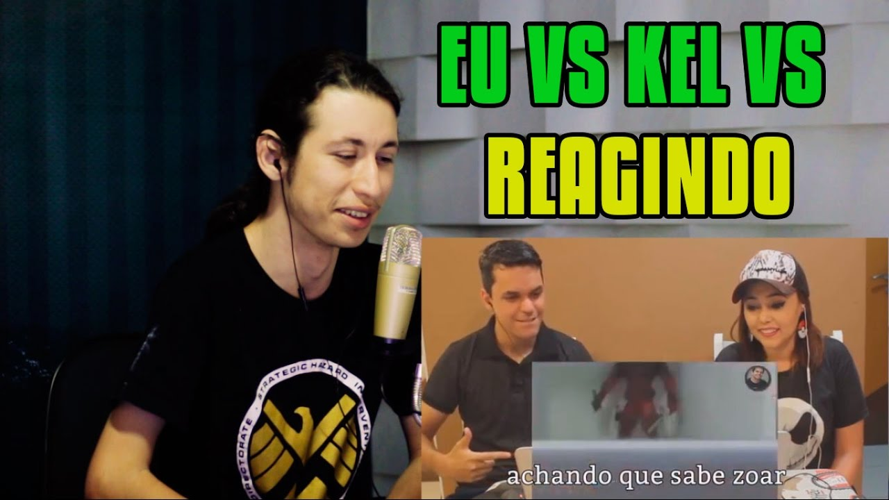 Download REACT Kel React VS. React Brasil VS. Reagindo | Batalha de Youtubers #2280