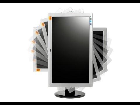 حل مشكلة تدوير شاشة الكمبيوتر وتدوير الشاشة بنفسك