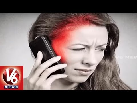 Danger Cell Phone | Cell Radiation Is Harm To Health, Says Doctors | Hyderabad | V6 News