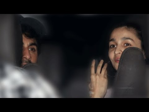 Alia Bhatt And Ranbir Kapoor BLUSH As They Leave Together From Brahmastra Sets