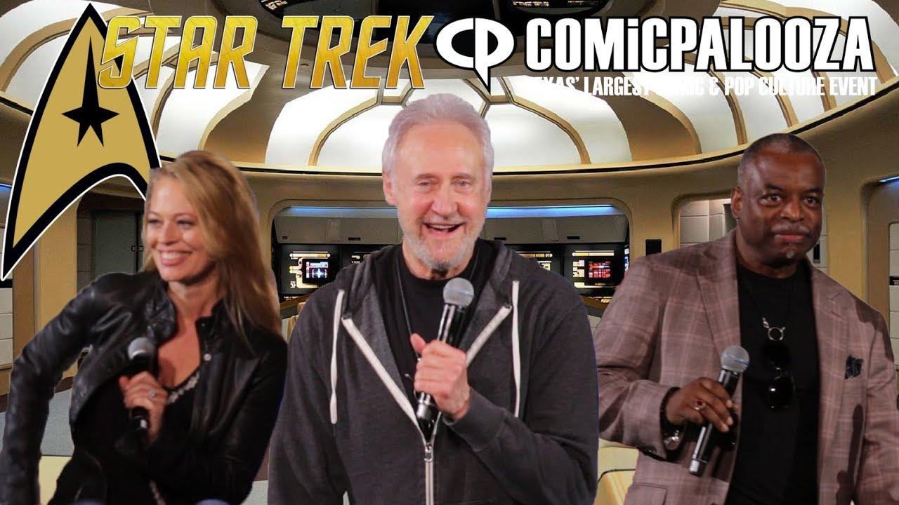 Download Brent Spiner, LeVar Burton and Jeri Ryan -  Star Trek Comicpalooza Panel
