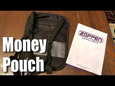 Ultraslim Travel Wallet Neck Holder Money Pouch By Zoppen Review