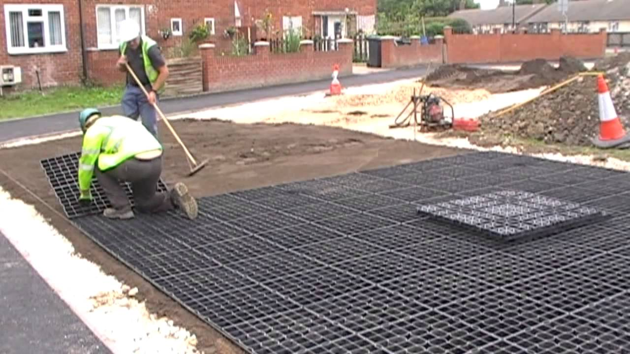 Car Park Surfacing And Parking Reinforcement With