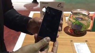 Ecos del CES 2016: Hisense C20, smartphone todo terreno