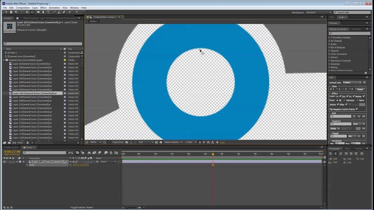 Week 9 - Advanced Motion Graphics Part 1