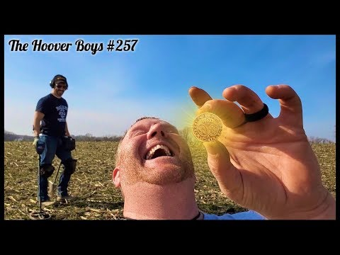 BIG OLD GOLD COIN!! Treasure Hunter Finds FANTASY COIN Metal Detecting