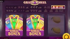 Machine à sous GRAND WHEEL - avec des BONUS WHEEL