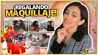 REGALANDO MAQUILLAJE/PAQUETES DE PR A MIS SUSCRIPTORES EN LA CALLE! | GRACIAS POR SU CARIÑO!