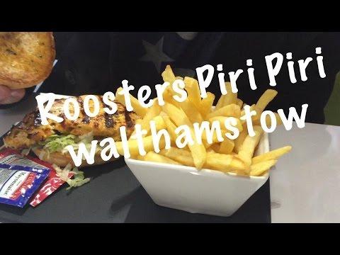 Halal Hangouts - Roosters Piri Piri Chicken, Walthamstow