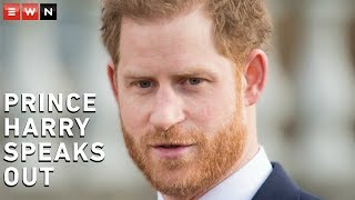 Prince Harry said he and his wife Meghan had no other option than to step down from their royal duties if they wished to live a more peaceful life.