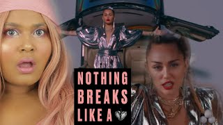 Mark Ronson ft. Miley Cyrus - Nothing Breaks Like A Heart REACTION #MileyCyrus Video