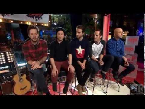 Simple Plan - Interview at Musique Plus