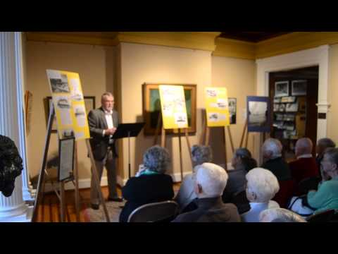Museum Trustee Dick Johnson - ferryboats on the St. Lawrence River