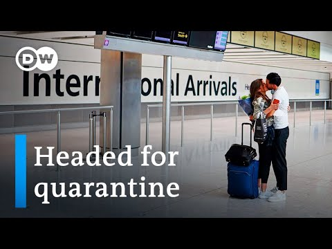 UK Imposes 14-day Traveler Quarantine As Europe Eases Restrictions   DW News