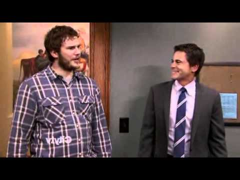 Parks and Recreation: Andy - food is energy