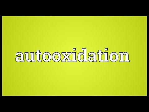 Header of autooxidation