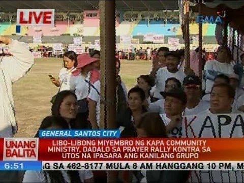 UB: Libo-libong miyembro ng Kapa Community Ministry, inaasahang dadalo sa prayer rally...