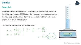 OCR 9-1 Physics: Density