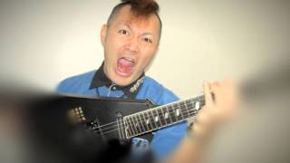 メタルギタリストのKennedyと申します。 メガデスのハンガー18のギタ...