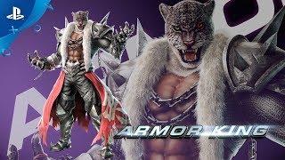 Tekken 7 - Season Pass 2 Reveal : Armor King | PS4