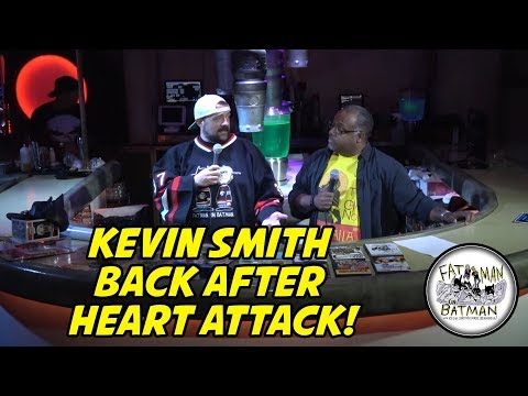 KEVIN SMITH BACK AFTER HEART ATTACK!