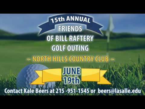 Friends of Bill Raftery Golf Outing Invite