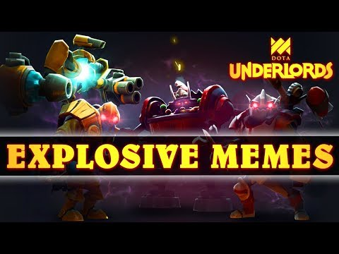 DOUBLE Unstable Reactor by Round 4 | Explosive Memes | Dota Underlords
