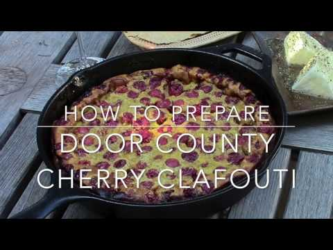 How to make a cherry clafoutis