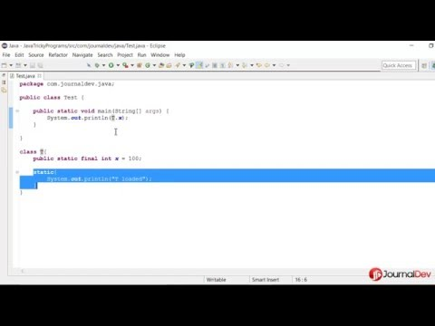 Java Tricky Program 1 - Java Compiler Optimization