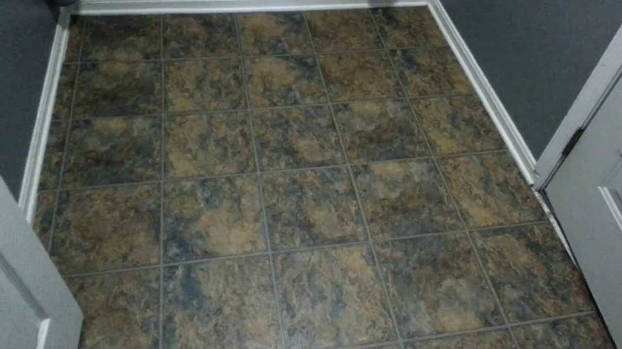 Allure Trafficmaster plank flooring review  YouTube