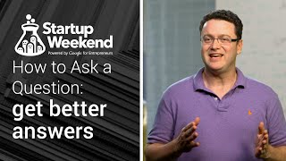 How to ask a question: conducting research for your startup
