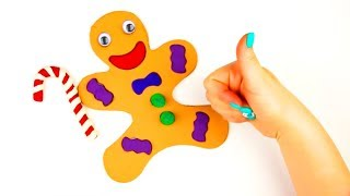 Learn Colors With Kinetic Sand Rainbow Play Doh How To Make A Cookie Man Toy Billiards Coloring