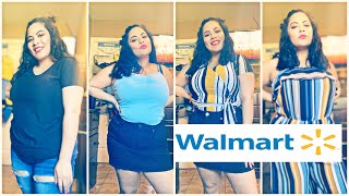 Spring Walmart Clothing Haul 2019! Plus size! Save money! Look cute! Walmart!