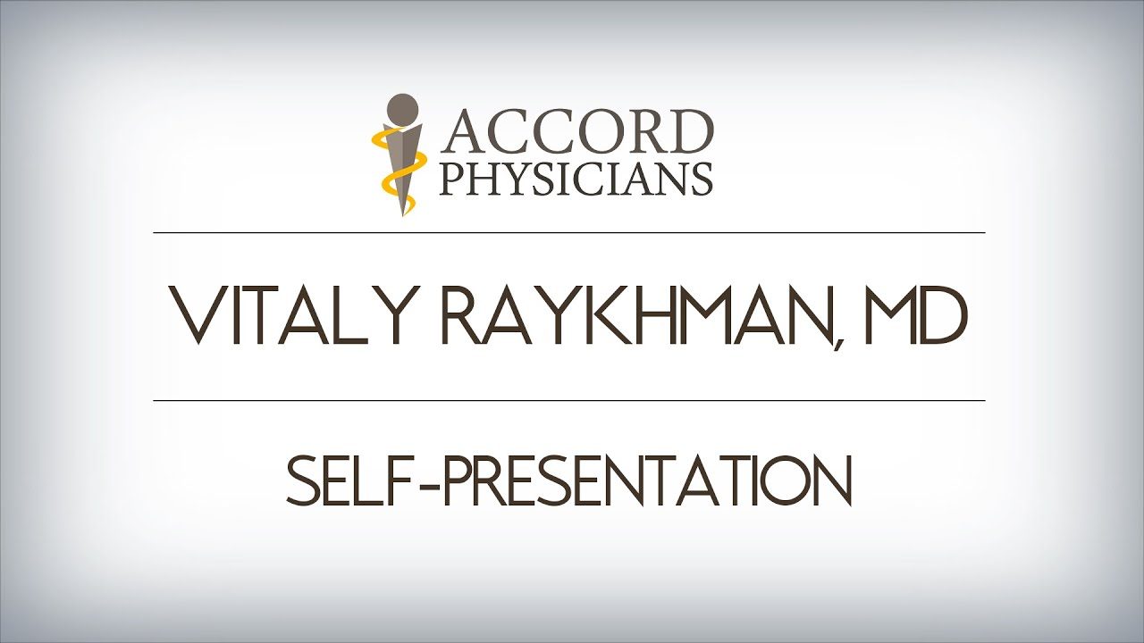 Vitaly Raykhman | Accord Physicians PLLC
