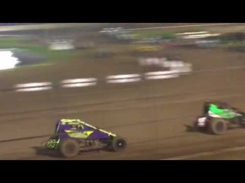 Elite wingless sprint car Amarillo Route 66 motor speedway 7-29-2017