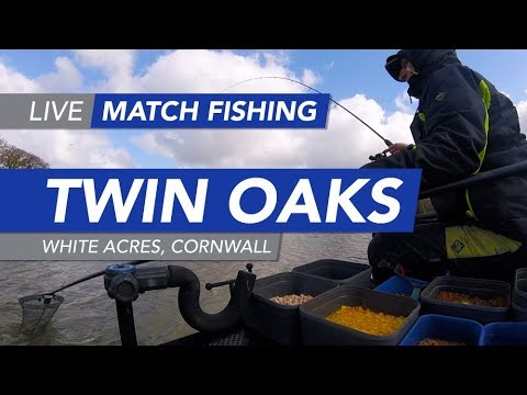 Live Match Fishing: Twin Oaks, White Acres