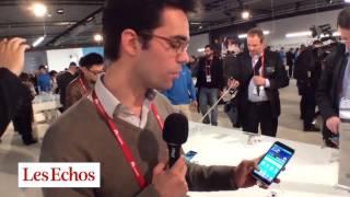 Repeat youtube video Le Galaxy S5 de Samsung au Mobile World Congress de Barcelone en vidéo